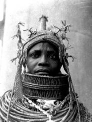 Oba Okpolokpolo Akenzua of Benin 1954